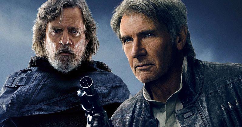 Luke Finally Mourns Han in New Last Jedi Comic Book