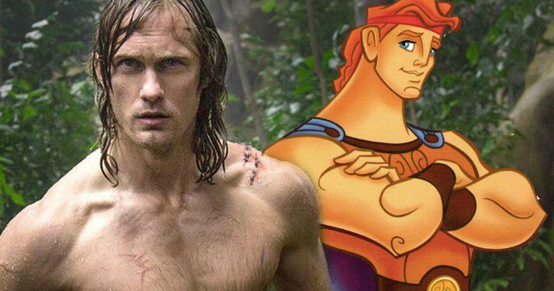 Disney's Hercules Remake Wants Alexander Skarsgard in the Lead?