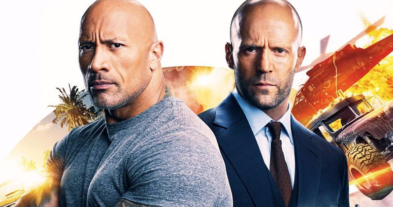 Hobbs & Shaw Races to the Top of the Box Office with $60.8M