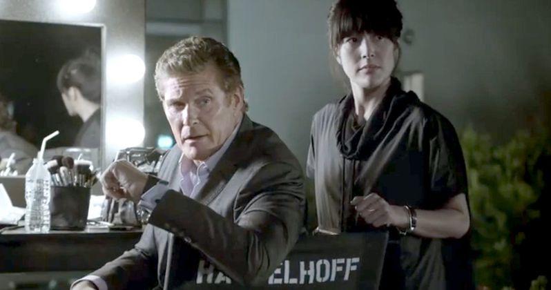 Knight Rider's KITT Hassles David Hasselhoff in Samsung Video