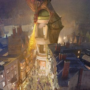 The Wizarding World of Harry Potter Theme Park Adds Diagon Alley and London