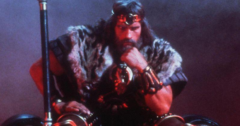 Schwarzenegger Talks King Conan Script with Original