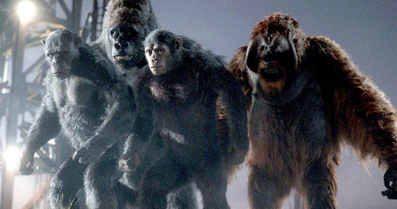 War of the Planet of the Apes: Did Apes 3 Get a Title?