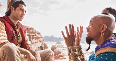 Will Smith as the Genie Revealed in Disney's Aladdin Remake