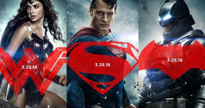 Batman v Superman & Wonder Woman Character Posters Are Epic