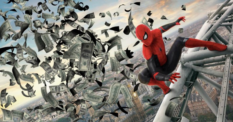 Far from Home Just Became the Highest-Grossing Spider-Man Movie Ever