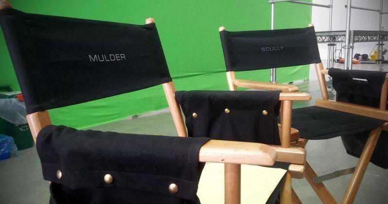 X-Files Cast Share Set Photos as Shooting Begins