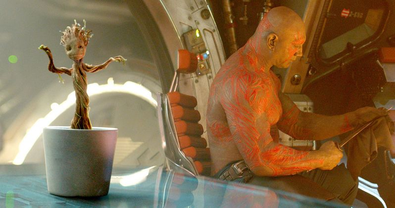 Guardians Director on Why Baby Groot Was Afraid of Drax