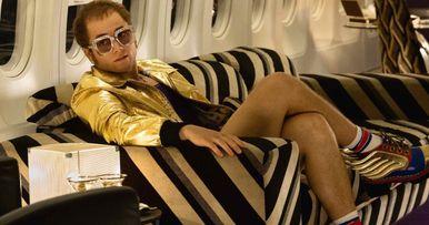 Taron Egerton as Elton John Revealed in Rocketman