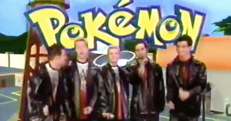 'NSync Covers the Pokemon Rap in Cringiest Video You'll Watch This Week