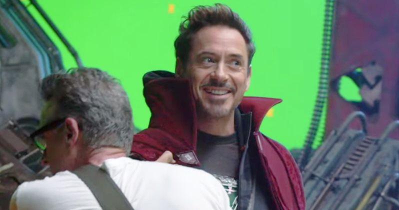 Why Is Tony Stark Wearing Doctor Strange's Cloak in New Infinity War Video?