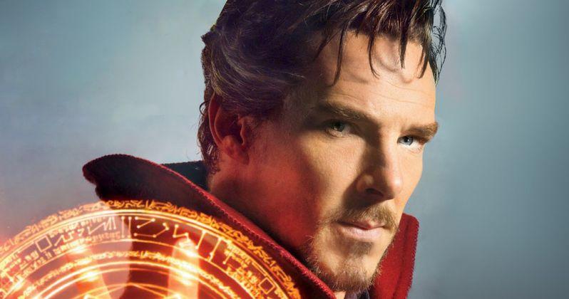 Doctor Strange Set Photos Show Benedict Cumberbatch in Action