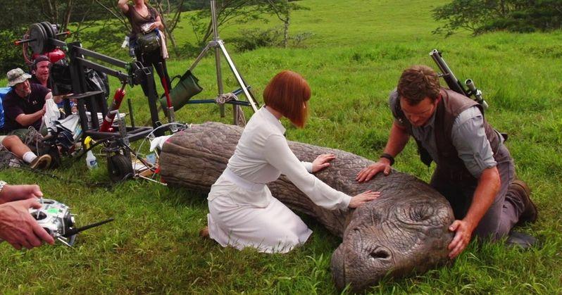 Jurassic World 2 Video Washes Ashore with Chris Pratt & Bryce Dallas Howard