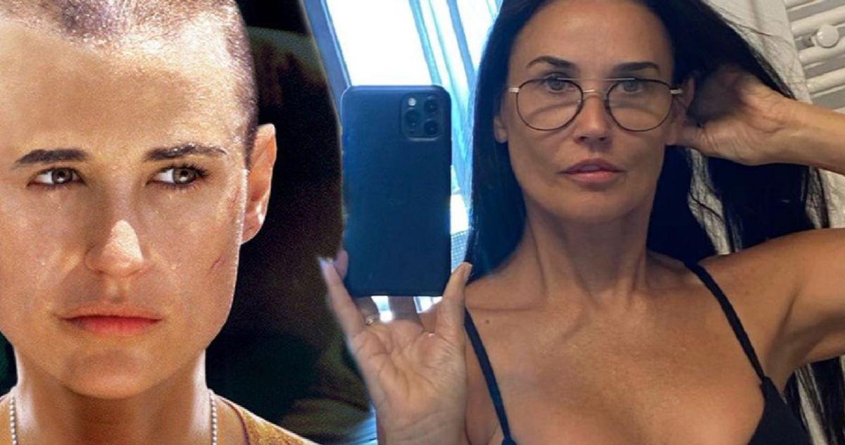Demi Lovato Posts Sexy Selfie In Leopard Bikini