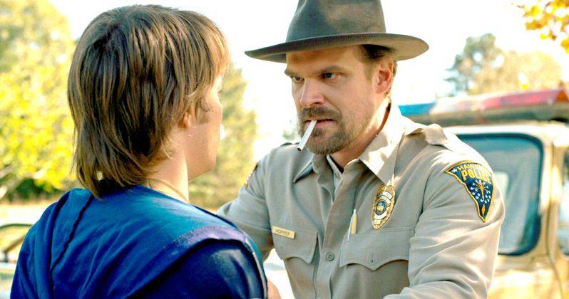 Stranger Things Season 2 to Reveal Sheriff Hopper's Secret Past?