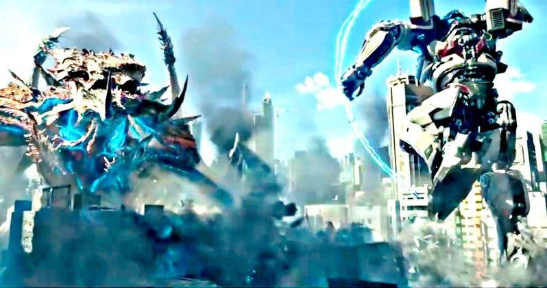 Pacific Rim 2 IMAX Trailer Brings Bigger Monsters Into Battle
