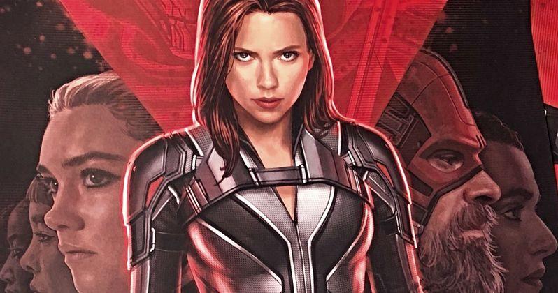 Black Widow D23 Poster Reveals Red Guardian & Natasha's New Suit