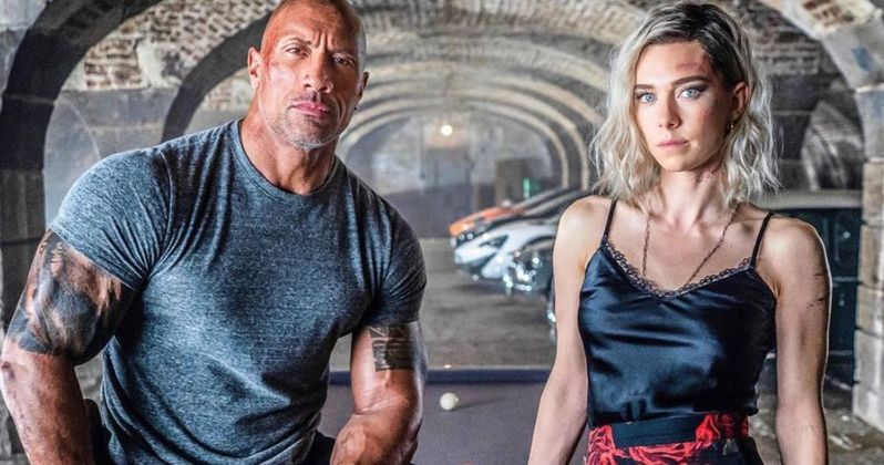 The Rock Shares Hilarious Take Down of Hobbs and Shaw Trailer