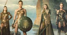 Wonder Woman Photos Show Queen Hippolyta Riding Into Themyscira