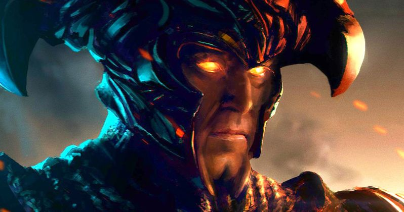 Justice League Steppenwolf and Batmobile Revealed at Comic-Con