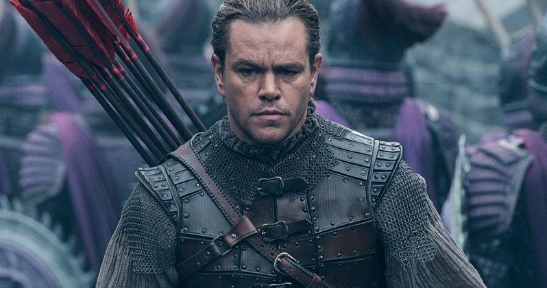 The Great Wall Trailer Has Matt Damon Fighting Chinese Monsters