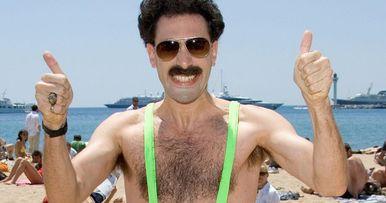 Mankini-Wearing Borat Impersonators Get Arrested in Kazakhstan