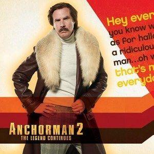 Anchorman 2's Ron Burgundy Celebrates British Halloween