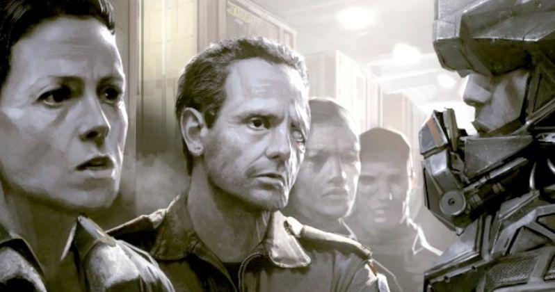 Alien 5 Concept Art Has Ripley & Hicks Ready for Battle