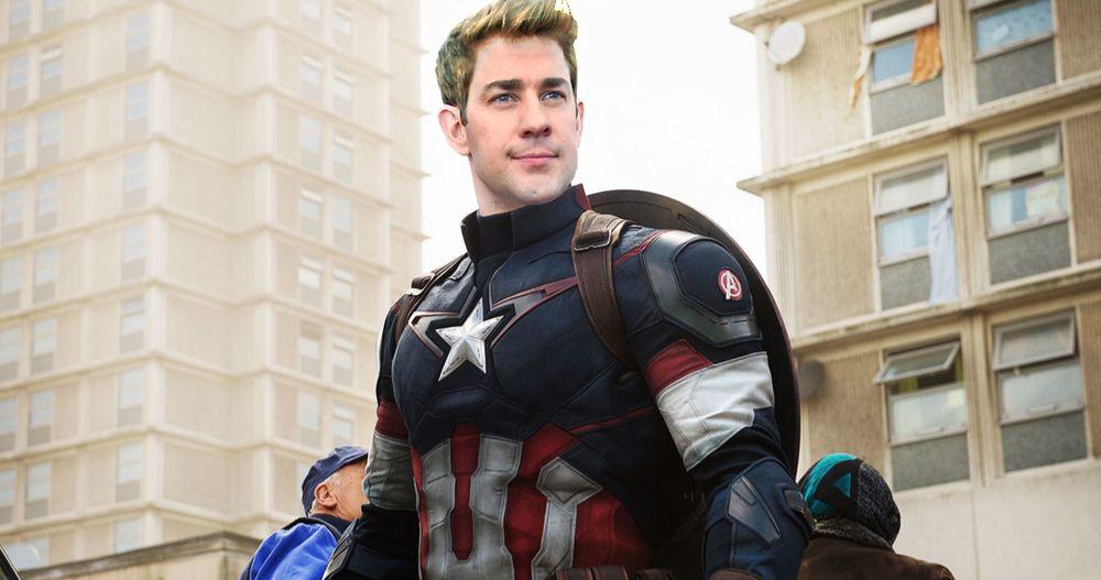Losing Captain America Role to Chris Evans Still Has John Krasinski Cracking Jokes