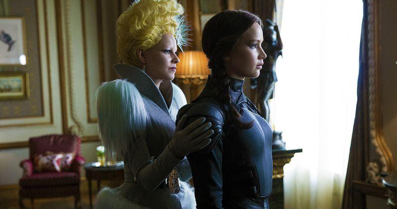 First Look at Effie Trinket in Hunger Games: Mockingjay Part 2