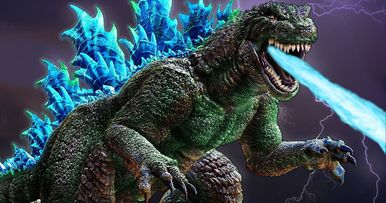 First-Ever Godzilla Animated Movie Coming from Toho in 2017