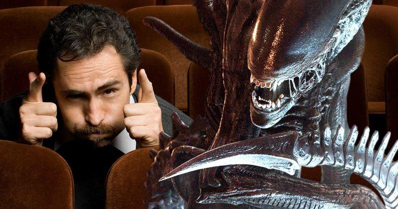 Demian Bichir Talks Grueling Alien: Covenant Shoot | EXCLUSIVE