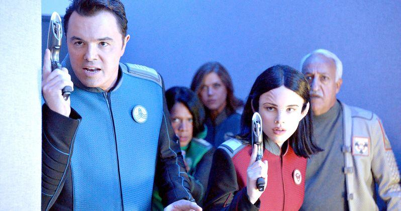 The Orville Trailer Goes Interstellar with Star Trek Jokes