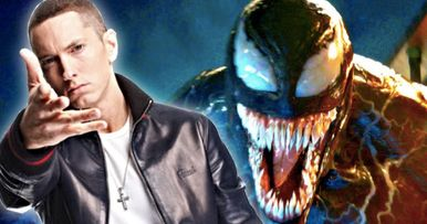 Eminem Offers Tiny Taste of Old School Venom Theme Song