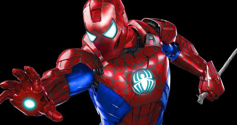 Spider-Man Costume Gets a Twist in Captain America: Civil War