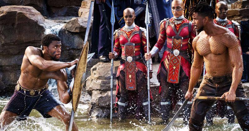 Michael B. Jordan Shares Inspiration Behind Killmonger's Scars in Black Panther