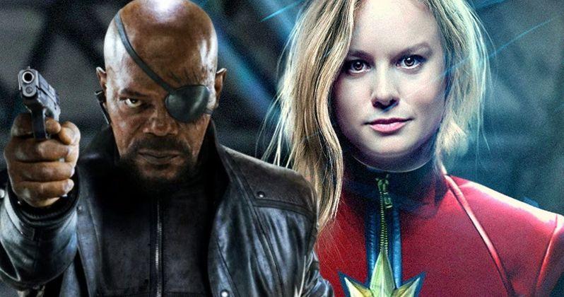 Samuel L. Jackson Will Return as Nick Fury in Captain Marvel