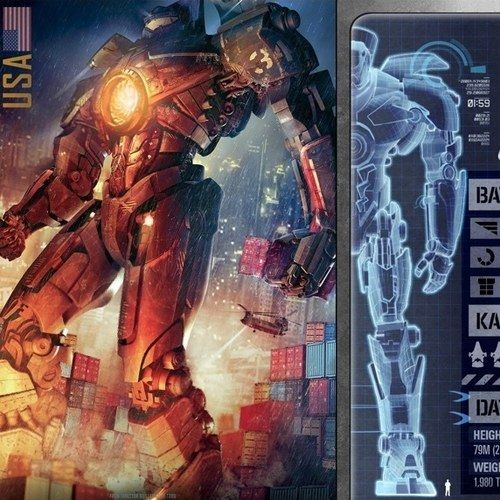 Pacific Rim WonderCon 2013 Trading Cards