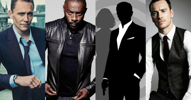 James Bond Shortlist Includes Idris Elba, Tom Hiddleston & Michael Fassbender?