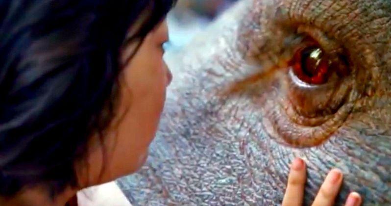 Netflix's Okja Trailer: Tilda Swinton Creates a Fantastic New Animal