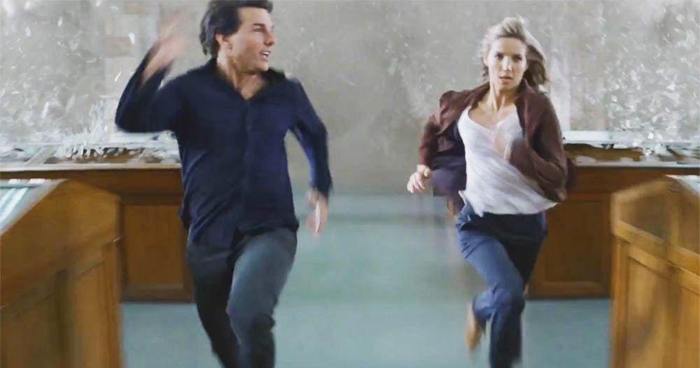 Tom Cruise Runs Alone Mummy Tom Cruise Told One Mummy Co-Star That He Only Runs Alone, But That Soon Changed