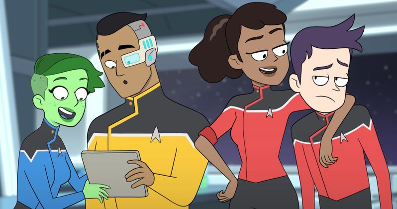 Star Trek: Lower Decks Voice Cast and Characters Revealed at Comic-Con
