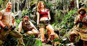 Why Karen Gillan Is Wearing That Skimpy Costume in Jumanji 2