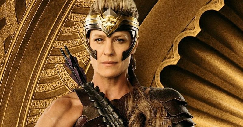 Robin Wright's Antiope to Return in Wonder Woman 1984 Flashback?