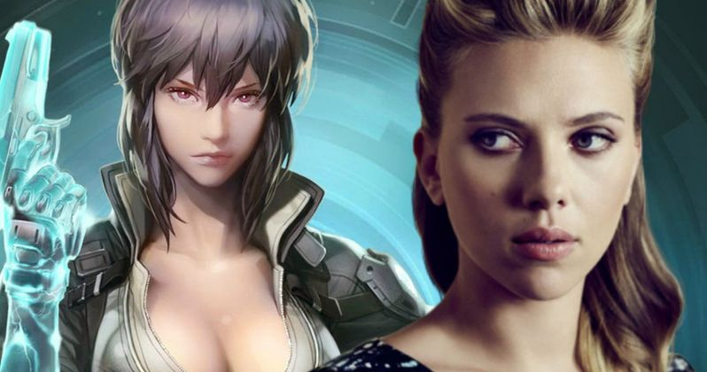 Ghost in the Shell Movie Gets New Release Date