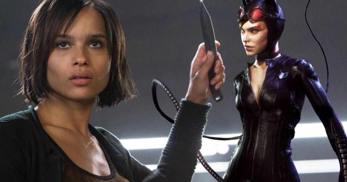 The Batman Is Putting Zoe Kravitz Through Some Intense Catwoman Training