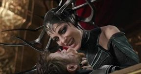 The Goddess of Death Attacks in New Thor: Ragnarok Sneak Peek