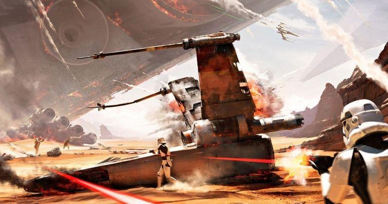 Star Wars Battlefront Trailer Takes You Into the Battle of Jakku
