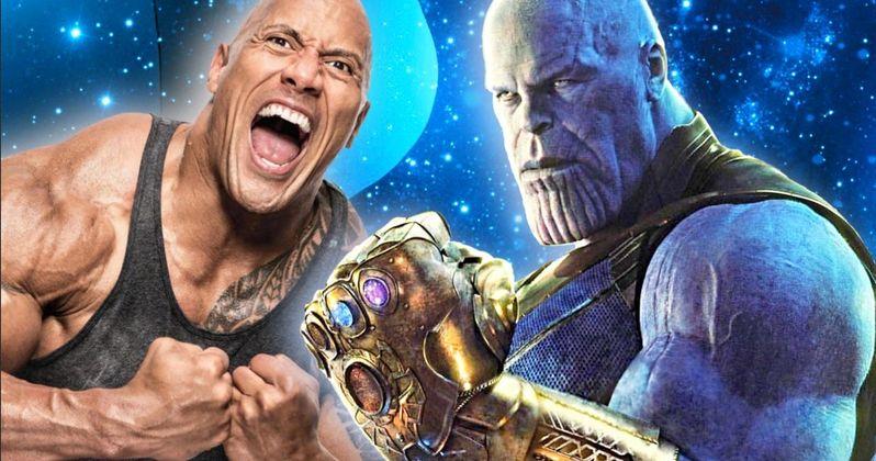 Thanos Actor Josh Brolin Picks a Social Media Fight with The Rock