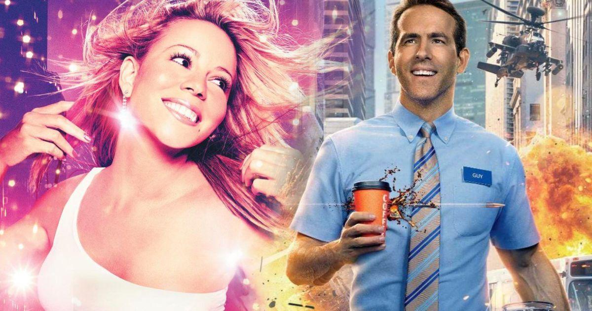 Free Guy Mariah Carey Obsession Ryan Reynolds Ryan Reynolds Is 100% Responsible for Mariah Carey Obsession in Free Guy